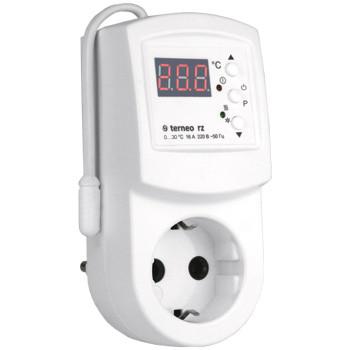 Устройства климатического контроля Терморегулятор terneo rz (розеточный) - «Тепло Всегда» в Днепре