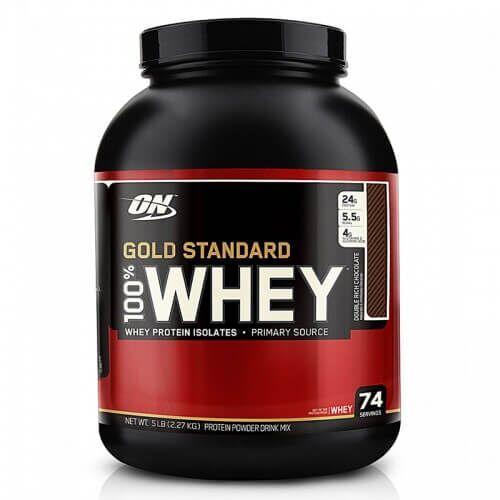Протеин, ON 100% Whey Gold Standard 2273 Грамм, Двойной шоколад