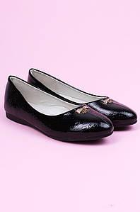 Туфли детские черные ACG 124347P
