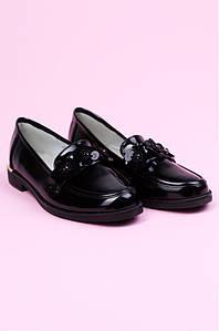 Туфли детские черные ACG 124349P