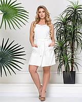 Женские шорты Суринам (белый) 3001201 54, Белый