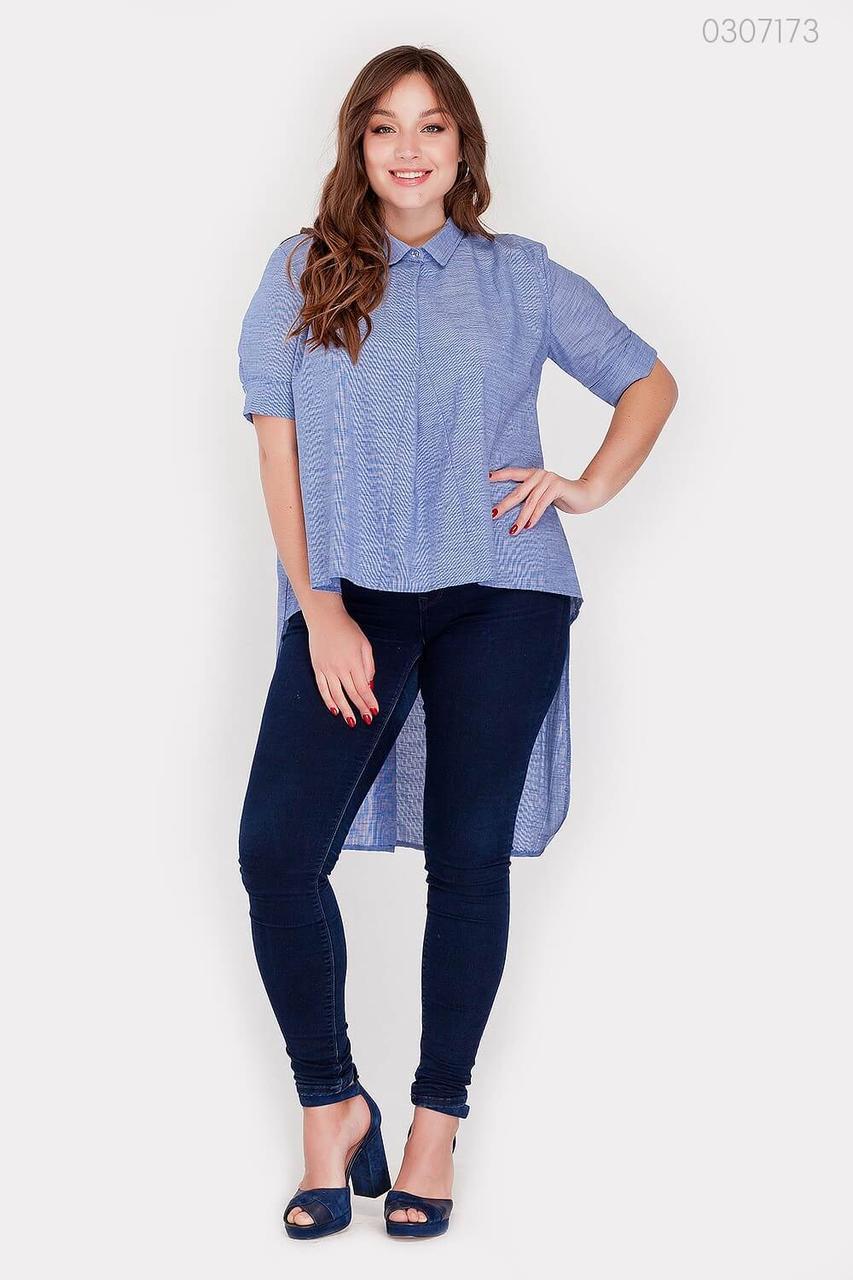 Женская рубашка Урбино (джинс) 0307173