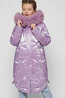 Зимний миди пуховик для девочек X-Woyz DT-8302-23