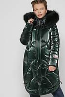 Зимний миди пуховик для девочек Куртка X-Woyz DT-8302-30