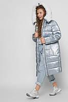 Длинная зимняя куртка для девочек X-Woyz DT-8305-11