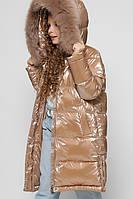 Зимняя лаковая куртка для девочки X-Woyz DT-8306-13