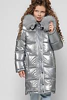 Зимняя лаковая куртка для девочки X-Woyz DT-8306-20