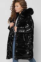 Зимняя лаковая куртка для девочки X-Woyz DT-8306-8