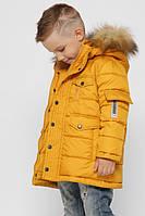 Стильная зимняя куртка для мальчика  X-Woyz DT-8316-6