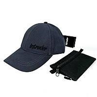 Кепка Intruder мужская   женская серая брендовая + Фирменный подарок
