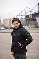 Куртка чоловіча зимова чорна Glacier Intruder
