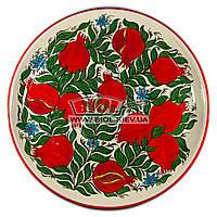 Ляган (узбецька тарілка) 45х5см для подачі плову керамічний (ручна розпис) (варіант 9), фото 1