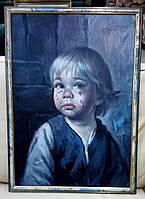 Серія репродукцій «Плаче хлопчик»