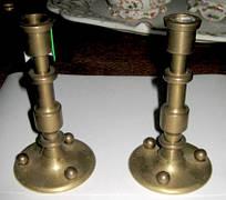 Подсвечник из бронзы на 1 свечку(пара) №27