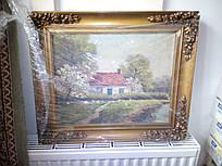 """Картина """"Будинок у вишневому саду"""""""
