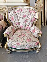 Кресло в стиле барокко и рококо.Мягкая мебель из Европы б/в.