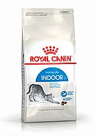 Royal Canin Indoor 4 кг сухой корм (Роял Канин) для взрослых кошек не покидающих помещение