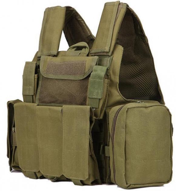 Жилет тактичний військовий HLV A58 Olive