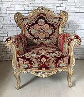 Итальянское новое кресло бароко.