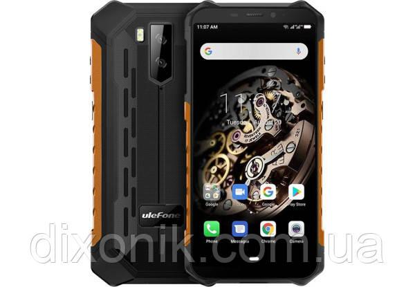 Защищенный смартфон UleFone Armor X5 orange