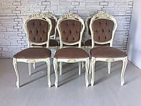 Класичний стілець в стилі барокко новий Італія