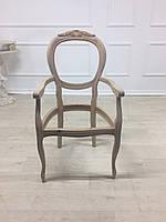 Крісло в стилі рококо. Італійське. Новий каркас.