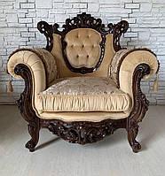 Шикарные два кресла Рококо. Новые Италия. Цена за 1 шт.