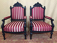 Кресло  бароко антикварное.  Италия. Цена за штуку.