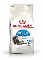 Royal Canin Indoor Long Hair 0.4 кг сухой корм (Роял Канин) для длинношерстных кошек от 1 до 7 лет