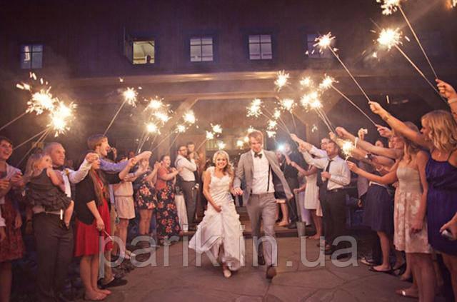 Большие бенгальские огни на свадьбу Киев