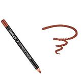 Олівець для губ водостійкий Flormar Waterpoof Lipliner № 243 Hot Cocoa, фото 2
