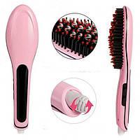 Электрическая расческа-выпрямитель для укладки волос Fast Hair Straightener HQT-906 ( Реплика), фото 1