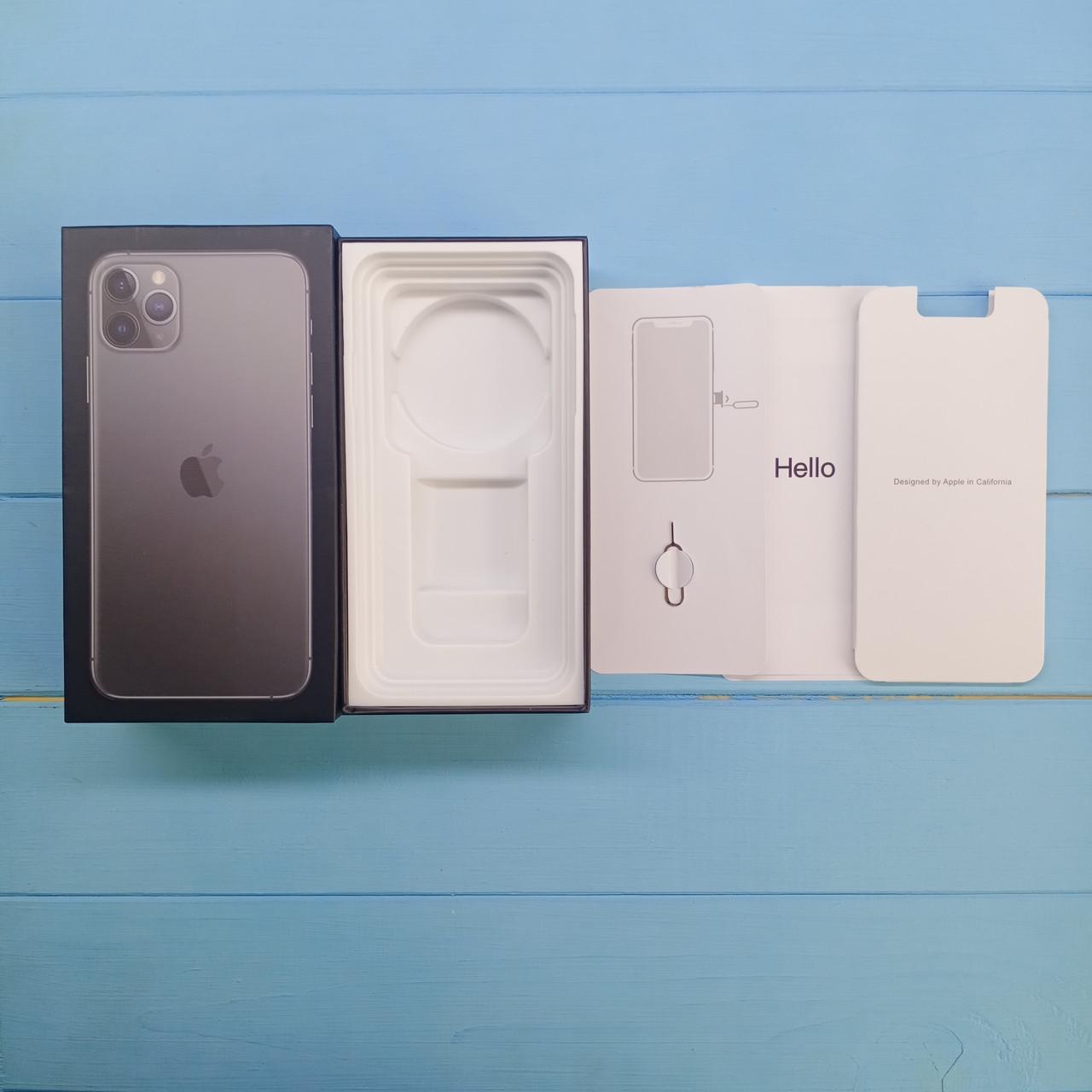 Коробка Apple iPhone 11 Pro Max Space Gray