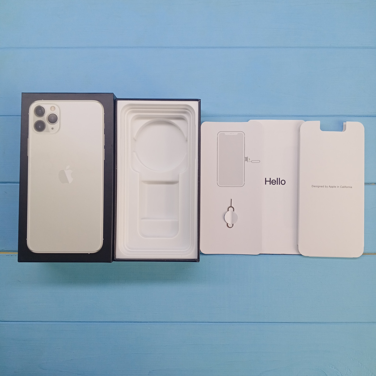 Коробка Apple iPhone 11 Pro Max Silver
