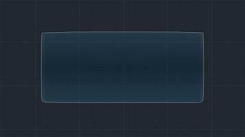 Защитное гибридное стекло на монитор 9H BMW i3 2013 - 2016