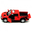 Игрушечная машинка металлическая Kinsmart КТ5365 FORD F-150 Красный, фото 2