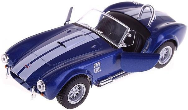 Игрушечная машинка металлическая Kinsmart KT5322W Shelby Cobra Синий