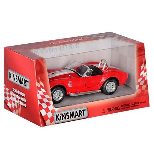 Игрушечная машинка металлическая Kinsmart KT5322W Shelby Cobra Красный