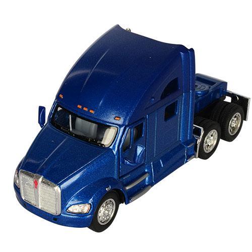 Игрушечная машинка металлическая Kinsmart КТ5357 Kenworth T700 Синий