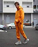 Спортивный костюм на флисе бежевый, фото 7