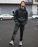 Спортивный костюм на флисе чёрный, фото 10