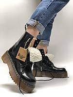 Жіночі зимові черевики Dr. Martens Jadon (Хутро). [Розміри в наявності: 36,37,38,39,40], фото 1