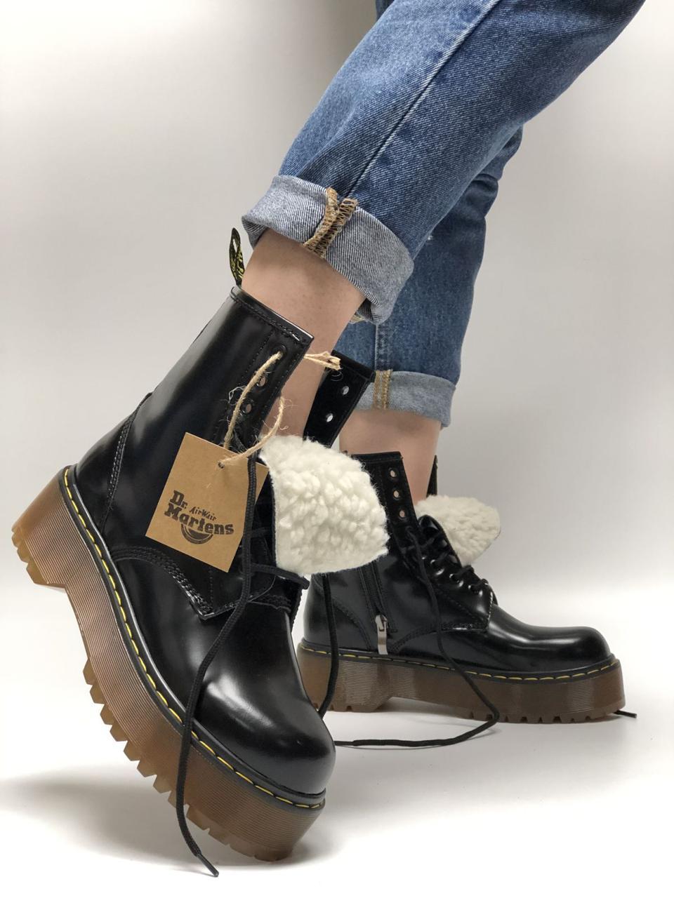 Жіночі зимові черевики Dr. Martens Jadon (Хутро). [Розміри в наявності: 36,37,38,39,40]