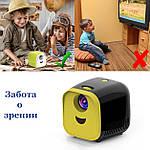 Портативний Проектор Wi-light Vivibright L1 мініпроектор дитячий проектор, фото 3