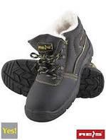 Ботинки зимние рабочие с металлическим подноском REIS (утепленные) BRYES-TO-SB