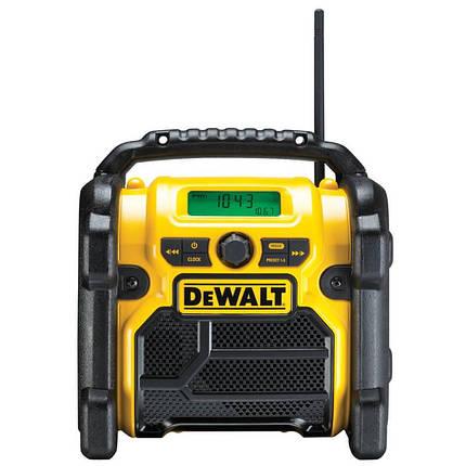 Радиоприемник AM/FM, AUX порт, DeWALT DCR019, фото 2