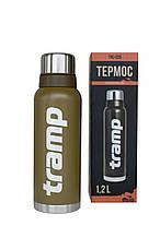 Термос Tramp Expedition Line 1,2 л оливковый (пожизненная гарантия)