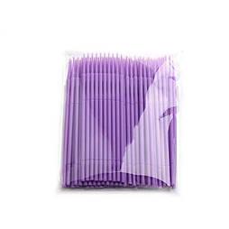 Микробраши для ресниц и бровей 1,5мм (пакет 100шт)