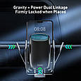 Держатель BASEUS Milky Way Electric Bracket Wireless Charger (15W), фото 10