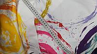"""Декоративная ткань """"Красочный фонтан"""" 64*153 см"""